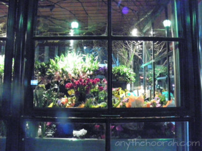 flowers in Swanston Street Melbourne