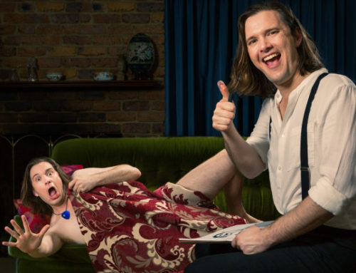 'Sketch me like one of your French girls' – David Massingham – MICF