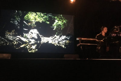 video art and kalaji performing at yirramboi festival