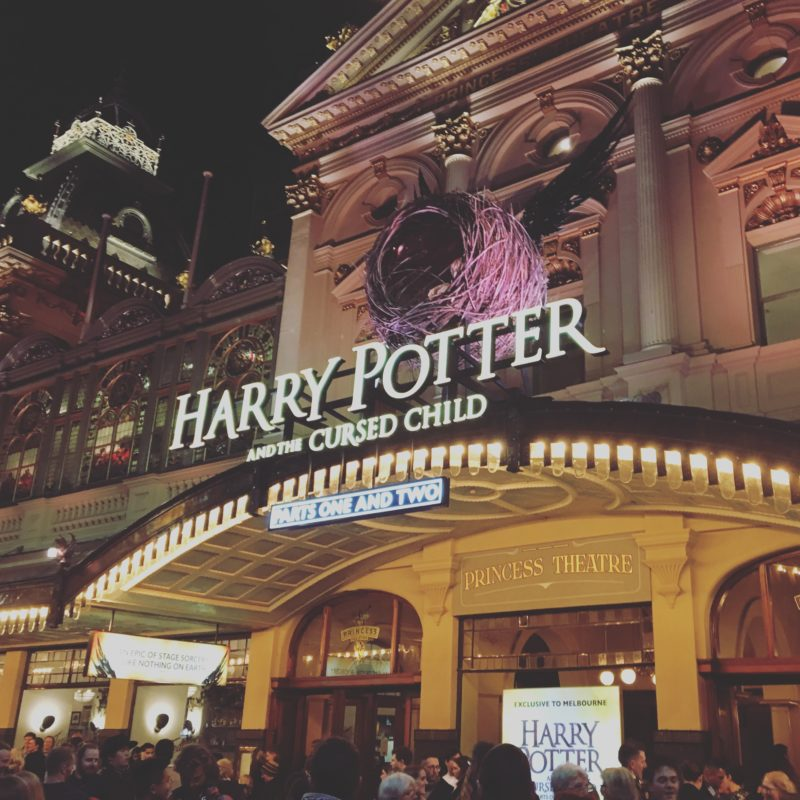 harry potter and the cursed child exterior