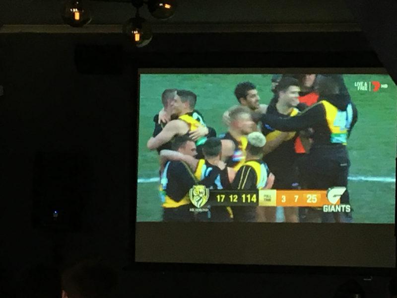 richmond tigers afl grand final winners