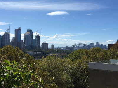 sydney harbour from potts point wow views